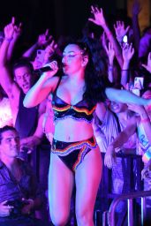 Charli XCX - Performing Live at Wynwood Pride in Miami 06/18/2021