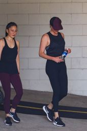 Charlize Theron - Leaves a Gym Session in LA 06/28/2021