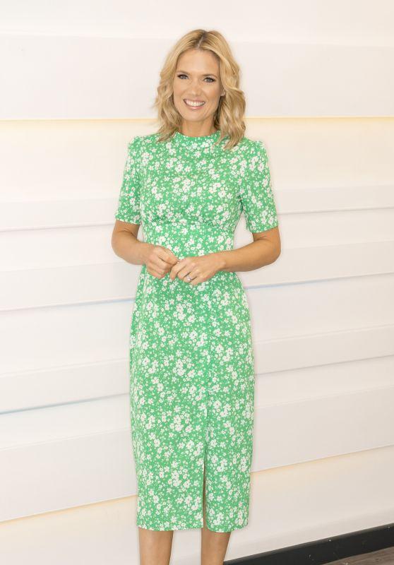 Charlotte Hawkins – Good Morning Britain TV Show in London 06/25/2021