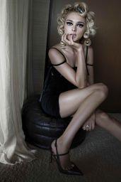 Charlotte Lawrence - Photographed for Harper