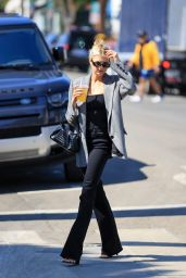 Charlotte McKinney Looks Business Chic - West Hollywood 06/02/2021