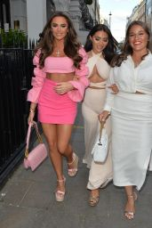 Chloe Brockett and Mia Sully Night Out at Bagatelle in London 06/05/2021