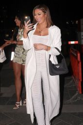 Chloe Ferry at Novikov and Tape Nightclub in London 06/01/2021