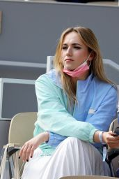 Chloé Jouannet – French Open at Roland Garros in Paris 05/30/2021