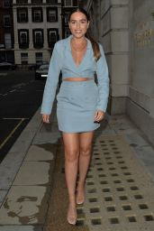 Chloe Ross at Smith and Wollensky Restaurant London 06/13/2021