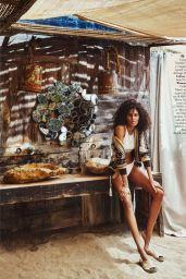 Cindy Bruna - ELLE Spain July 2021 Issue