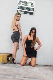 Claudia Romani and Cloe Greco - Ocean Drive in Maimi 06/08/2021