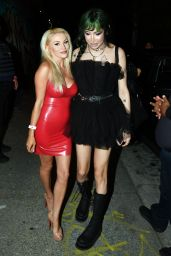 Courtney Stodden Night Out Style - 1720 in Downtown LA 06/18/2021
