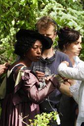 "Dakota Johnson and Nikki Amuka-Bird - ""Persuasion"" Filming Set in Salisbury 06/12/2021"