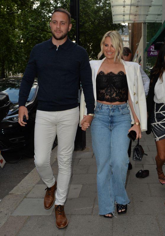 Danielle Armstrong and Boyfriend Tom Edney - Amazonico Restaurant 06/26/2021