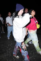 """Demi Lovato and Noah Cyrus - """"Space Jam"""" Premiere at Six Flags Magic Mountain in Valencia 06/29/2021"""