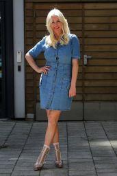 Denise Van Outen - Leeds Dock Studios in Leeds 06/08/2021