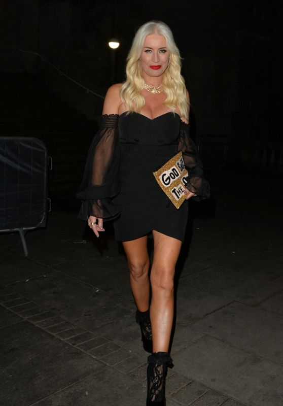 Denise Van Outen Night Out - London 05/29/2021