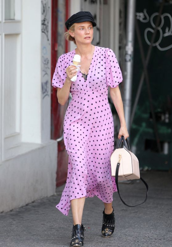 Diane Kruger - Out in New York 06/21/2021