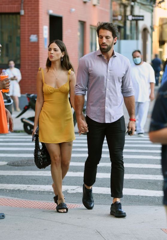Eiza Gonzalez and Paul Rabil - Out in New York City 06/17/2021