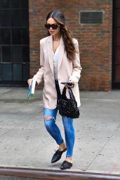 Eiza Gonzalez Street Style - NYC 06/19/2021