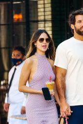 Eiza Gonzalez With BF Paul Rabil in NYC 06/21/2021