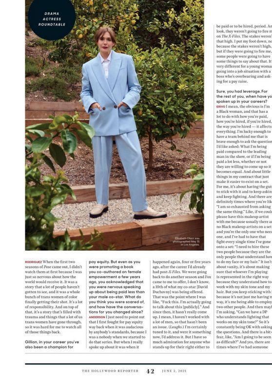Elizabeth Olsen – The Hollywood Reporter 06/02/2021 Issue