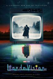 """Elizabeth Olsen – """"WandaVision"""" Promo Photos and Posters"""