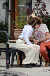 Elizabeth Olsen With Fiance Robbie Arnett in Studio City 06/02/2021