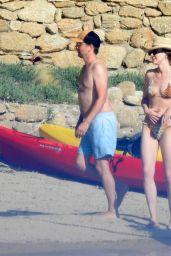 Elle Evans at Skiathos Island, Greece 06/16/2021