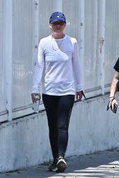 Ellen Pompeo at Griffith Park in Los Feliz 06/04/2021