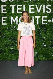 "Elodie Varlet - ""Plus Belle La Vie"" Photocall at the 60th Monte Carlo Festival in Monaco"