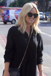 Emily Atack - Out in Soho, London 06/08/2021