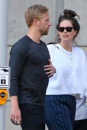 Emily DiDonato With Her Husband Kyle Peterson - NYC 05/31/2021