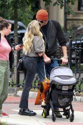 Emma Roberts and Garrett Hedlund - Out in Boston 06/25/2021