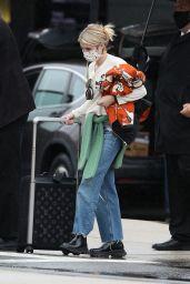 Emma Roberts - Arriving in Boston 06/01/2021