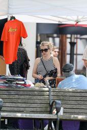 Emma Roberts at the Boston Open Market in Boston 06/21/2021