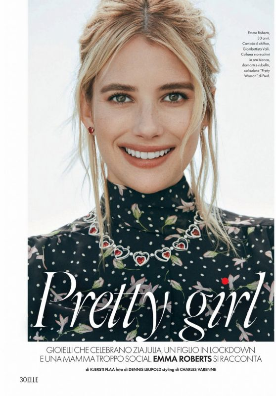 Emma Roberts - ELLE Italy 06/26/2021 Issue