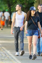 Emmy Rossum - Out in Central Park in NY 06/16/2021
