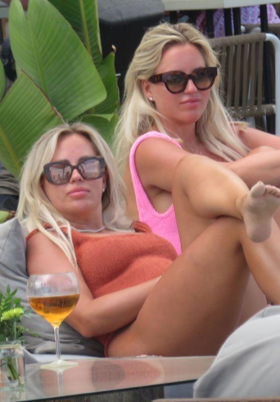 Esther Vedder and Anne Vedder in Marbella 06/06/2021