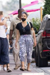 Eva Mendes - Out in Chantilly, France 06/17/2021