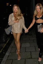Eve and Jess Gale at Novikov in Mayfair 06/28/2021