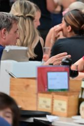 Famke Janssen at Bar Pitti in New York 06/23/2021