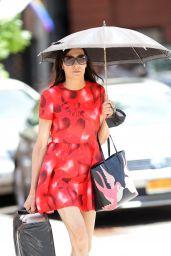 Famke Janssen - Shopping in Soho New York 06/23/2021