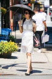 Famke Janssen Street Fashion - New York 06/29/2021