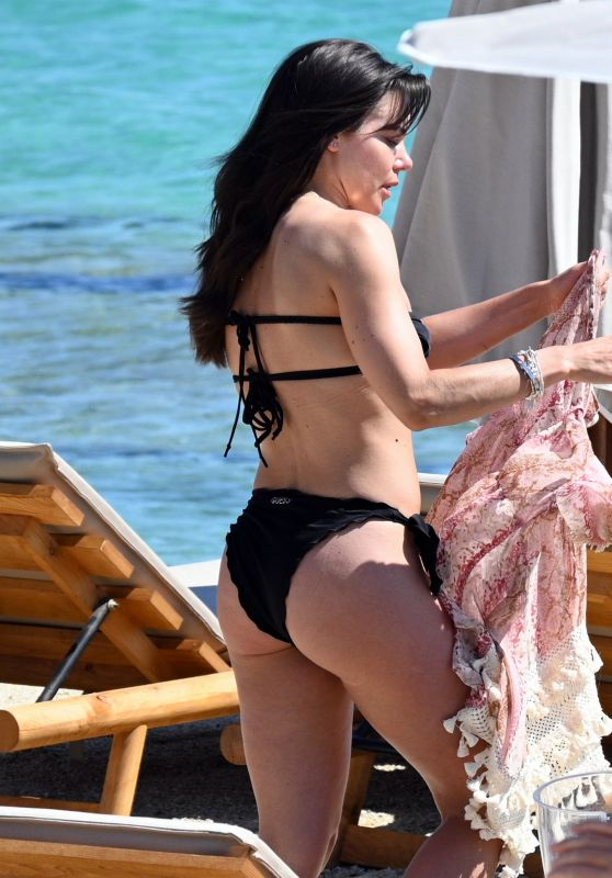 Faye Brookes in a Bikini in Mykonos 06/15/2021