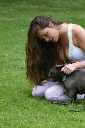 Fran Parman - Walking Her Dog in Chigwell 06/16/2021