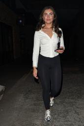 Francesca Allen Night Out Style - London 05/31/2021