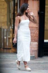 Francesca Allen - Out in Mayfair, London 06/15/2021