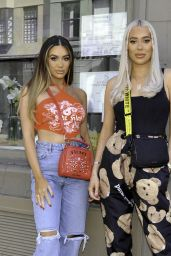Frankie Sims and Demi Sims at Boujee bar in Manchester 06/05/2021