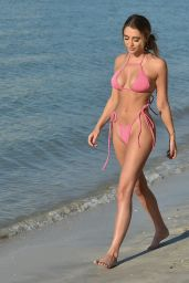 Georgia Harrison on the Beach in Miami 05/31/2021