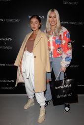 Georgia Steel, Demi Sims and Frankie Sims at Boohoo Baebaby Launch Event 06/29/2021