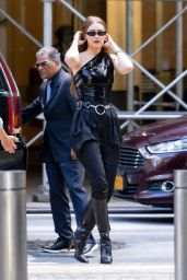 Gigi Hadid Street Fashion - NYC 06/23/2021
