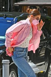 Gigi Hadid Street Style - New York 06/24/2021