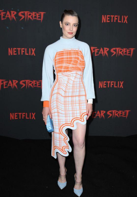 """Gillian Jacobs - Netflix """"Fear Street"""" Trilogy Premiere in LA 06/28/2021"""